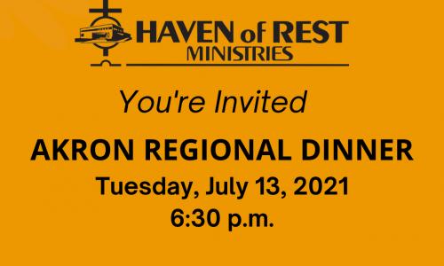 Akron Regional Dinner